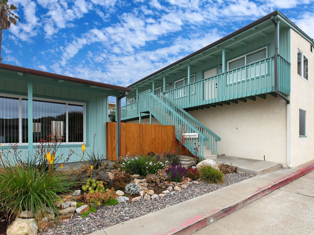 Oceanview vacation rental in north pacific beach pacific for San diego county cabin rentals