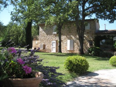 Photo for Beautiful Provencal villa with large private pool and huge gardens. Sleeps 8.