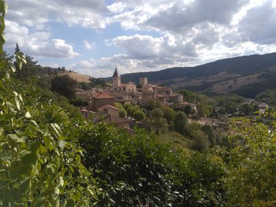 Photo for Terrace with beautiful views of Beaujolais