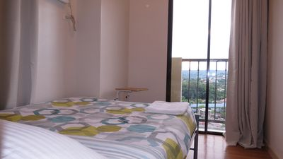 Photo for Corner Room with Balcony and Fantastic City View