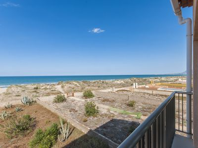 Photo for LLEBEIG 2 - Apartment with sea views in OLIVA.