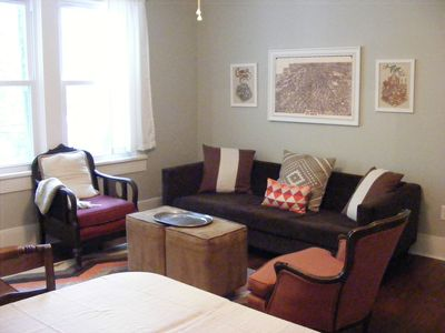Photo for 2 BR Airy Retreat On Quiet Street Close To Park