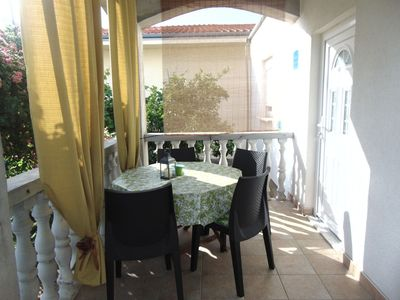 Photo for Comfortable apartment Luka in Privlaka, 150m from the beach