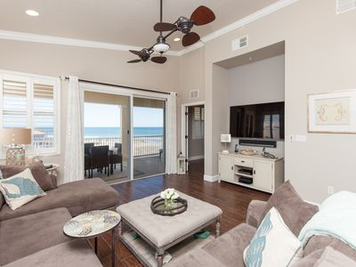 Photo for Top Floor Penthouse Corner Unit in Cinnamon Beach 361 ! Gorgeous ocean views!