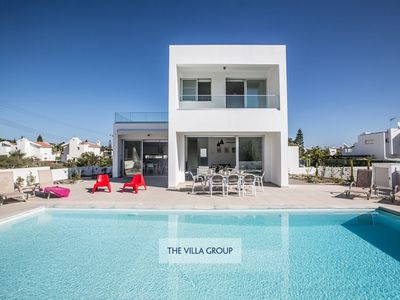 Photo for Protaras Villa, Sleeps 10 with Pool, Air Con and WiFi