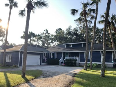 Photo for Newly Renovated Four Bedroom Three Bathroom Home Close to Beach! WITH Golf Cart.