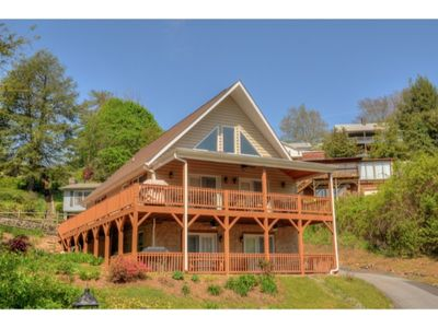 Photo for Carr Haus Lower - 2 Bedroom, 2 Bath Condo with WiFi located in Lake Junaluska. Accommodates 6 people