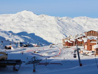 Photo for Apartment 4pers skiing Val Thorens has