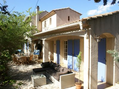 Photo for Child-friendly, detached villa with private swimming pool