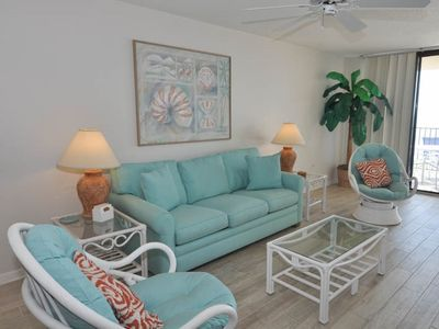 Photo for 5th Floor 1 Bedroom GULF FRONT Condo on the BEACH - P5-511