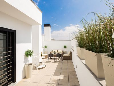 Photo for Corral Rey Terrace 7. Balcony and private terrace. Sun all year