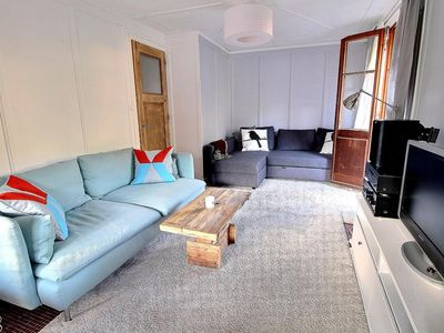 Photo for Cosy apartment with 3 bedrooms, wifi, parking space near the Palladium of Champéry (6-W)