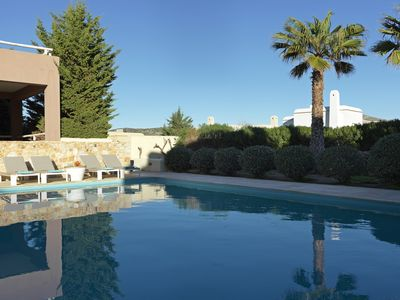 Photo for 4 Bedroom Villa with Sea View Private Hot Tub and Pool access
