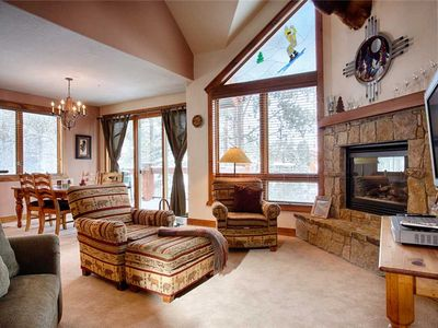 Photo for Perfect Breckenridge location, private hot tub, ski-in/out!