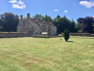Photo for Historic Manor House with hot tub