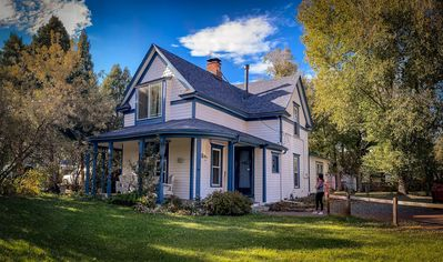 Photo for 1890s Restored Family FARMHOUSE in Posh section of town. Pet Friendly.