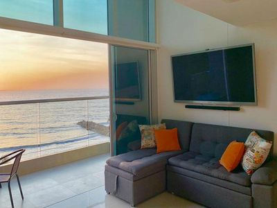 Photo for Beautiful duplex with sea view in the exclusive area of Bocagrande