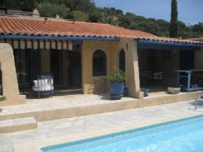 Photo for for rent: charming cottage at cote d'Azur, with private pool and sea view