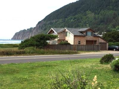 Photo for NKN TREASURE~Beach front home with fabulous ocean views!