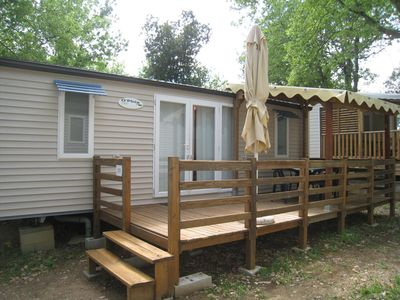 Photo for MOBILE HOME 5 PERSONS 2 BEDROOMS