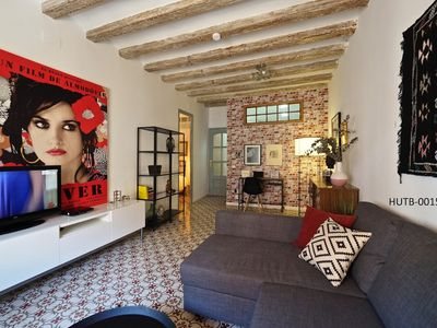 Photo for Apartment 337 m from the center of Barcelona with Internet, Air conditioning, Washing machine (443396)