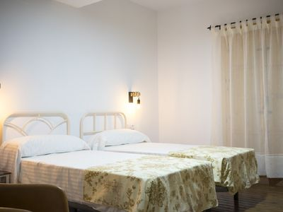 Photo for Stately house S. XIX in Monfragüe double bed room nº 4