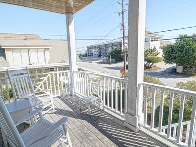 Photo for Harris–Ocean view townhouse located on the south end with easy beach access