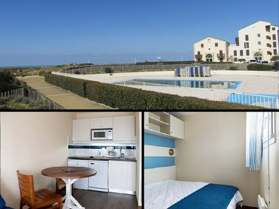 Photo for Apartment 4 people, residence with pool, Lacanau Ocean