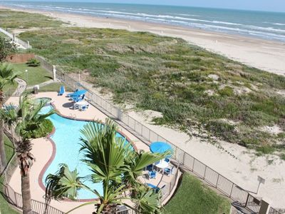 Photo for Relax and Enjoy our Beachfront Condo w/ 2 King Beds, Heated Pool