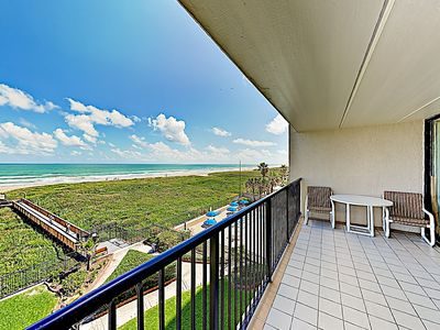 Balcony - Welcome to Suntide III! This Gulf-view condo is professionally managed by TurnKey Vacation Rentals.
