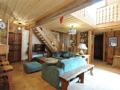 Photo for Furnished family house, Annecy Lake, for 7 to 12 people.