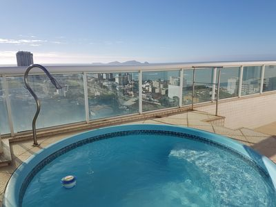 Photo for Luxury Penthouse Apartment Macaé -WI-FI, exclusive pool, jacuzzi -top show