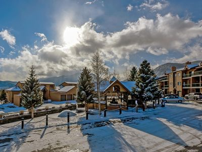 Photo for 2 bedroom in Lake Forest complex. Close to bike path! Walk to Lake Dillon!