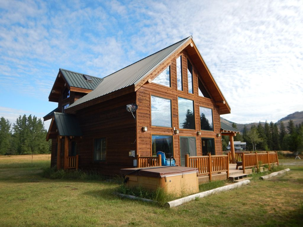 Lone wolf cabin at wolfridge resort winthrop north for Winthrop cabin rentals