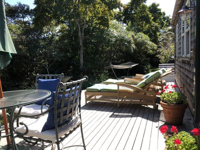 Photo for Sweet Private Dog-Friendly Cottage near Beach/Shuttle Bus/Biking - NO CAR NEEDED