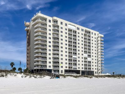 Photo for Waterfront condo w/ a private balcony, community pools, & fitness center!