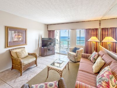 Photo for ☀Hol Surf & Racquet Club 717-2BR☀Feb 14 to 17 $671 Total!☀TOP FLOOR! Pool+Sauna!