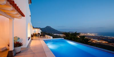 Photo for A luxury modern 5 bed villa to rent in Tenerife, with large private pool & wifi