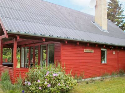 Photo for Charming Holiday Home in Jutland with Roofed Terrace