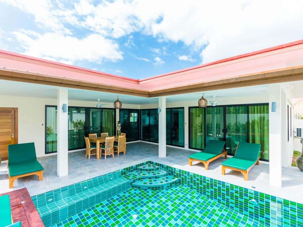 Nenuphar-new tropical private pool villa
