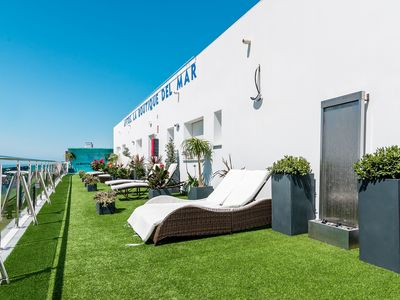 Photo for Modern, with roof terrace and very close to the beach - Apartamento La Dorada