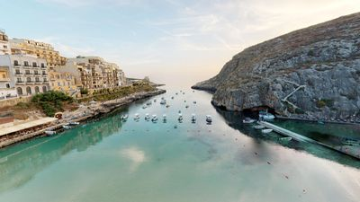 Photo for Xlendi Beachfront Duplex Penthouse