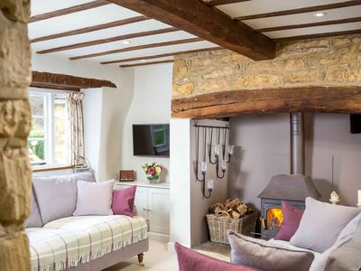 Photo for Spring Cottage is a Cotswold stone property, in the peaceful and picturesque village of Ebrington