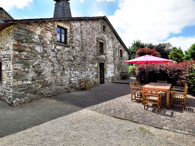 Photo for Charming link-detached gîte on a converted farm with spacious private terrace