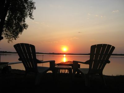Photo for Cabin for Rent The Cottage On Clearwater Lake Right on Water! Beautiful Sunsets!