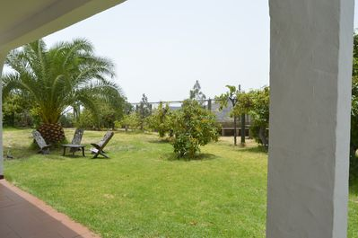 Garden exclusively for the enjoyment and relaxation of your family