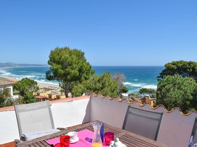 Photo for Apartment with sea views. Located at 1500 m. from the beach. Begur.