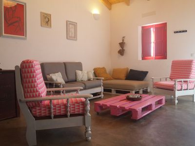 Photo for Modern house in beautiful village, 5 minutes from the beach ( cap. 6 persons)
