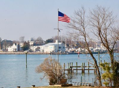 Southwest, looking at Solomons Island