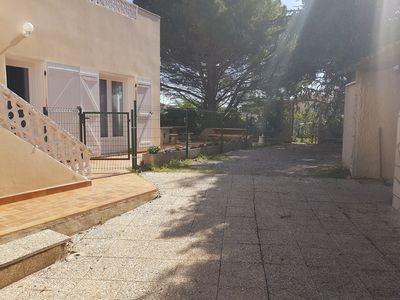 Photo for T4 apartment of 70m ² with terrace, garden and private parking 3 locations